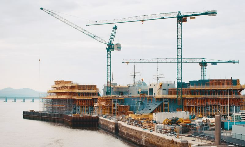 Building the V&A Museum of Design in Dundee by STROMA Films