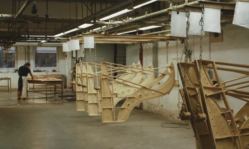Steinway & Sons Piano Factory. STROMA Films