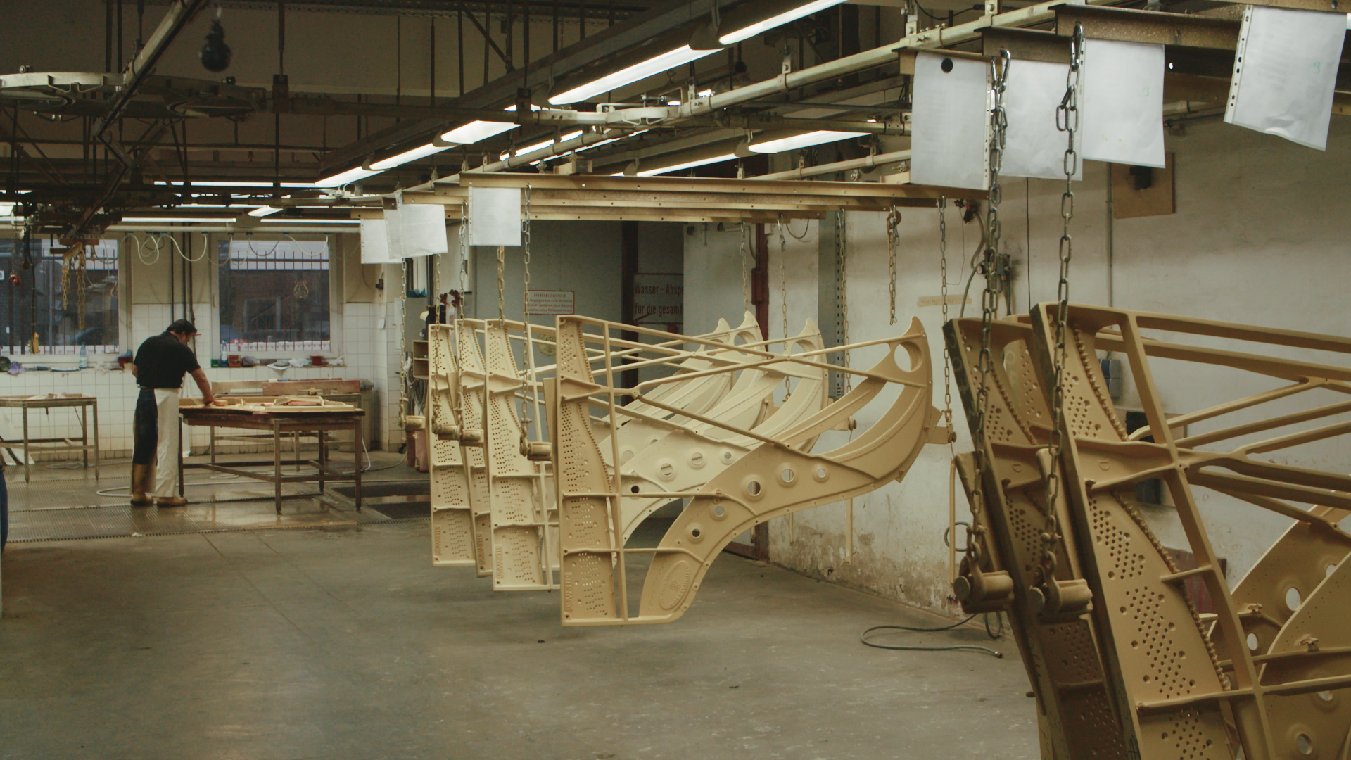 Steinway pianos being built - image by STROMA Films