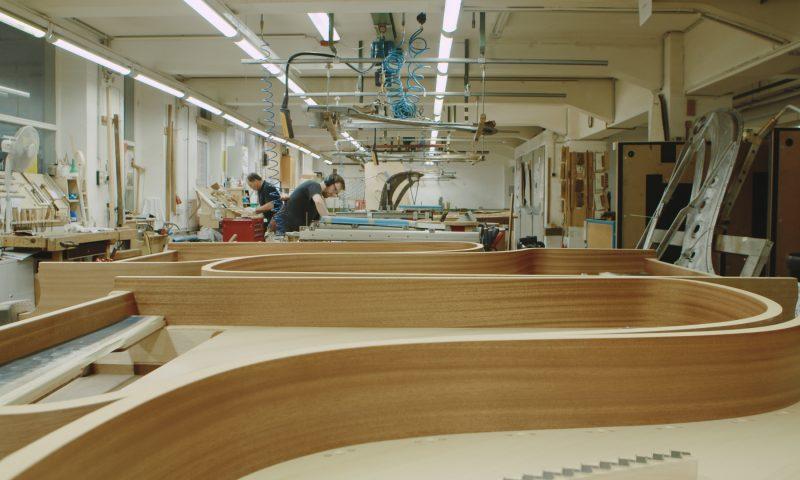 Steinway Factory - Craftsmen making Steinway pianos - STROMA Films