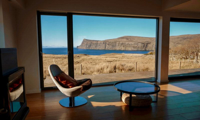 Contemporary Architecture with amazing Scottish views