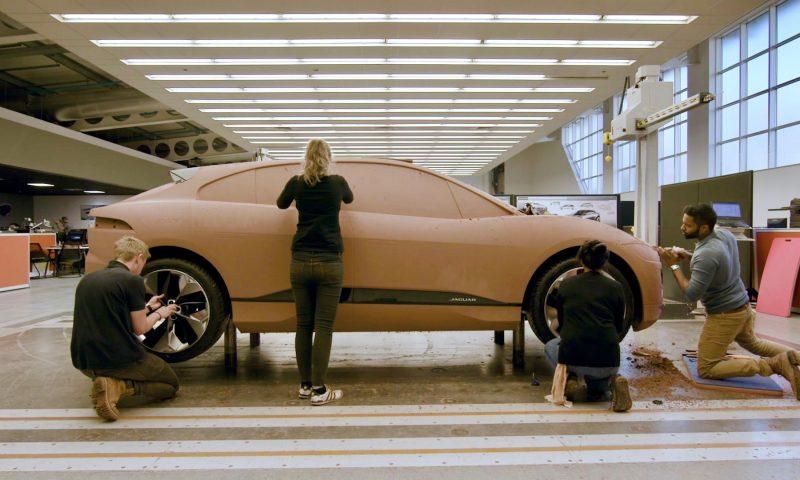 Jaguar i-Pace build