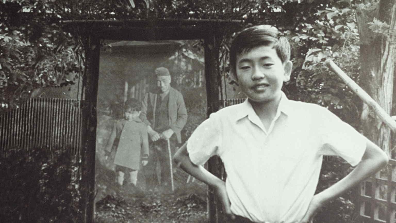 Kengo Kuma as a young boy in Japan